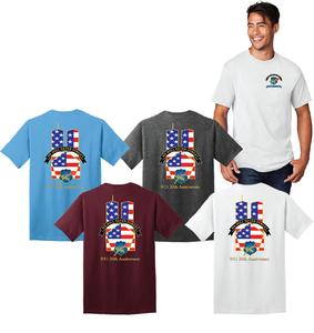 Shirt Memorial 9/11 20th Anniversary Tee